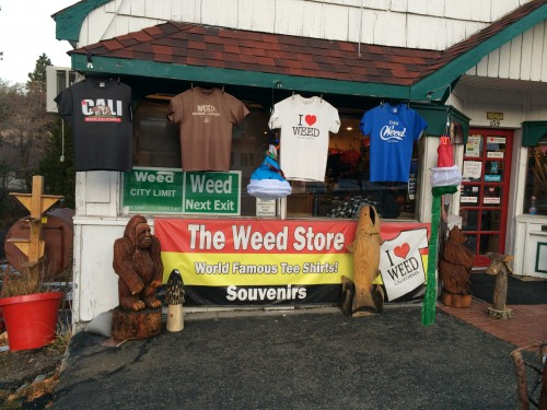 The Weed Store in Weed, California