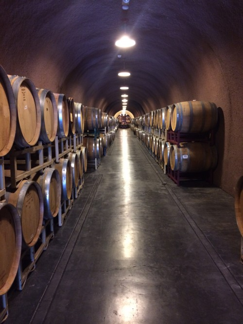 wine caves!