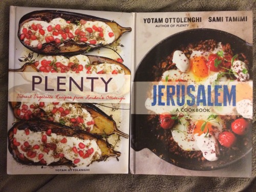 Plenty and Jerusalem by Yotam Ottolenghi and Sami Tamimi