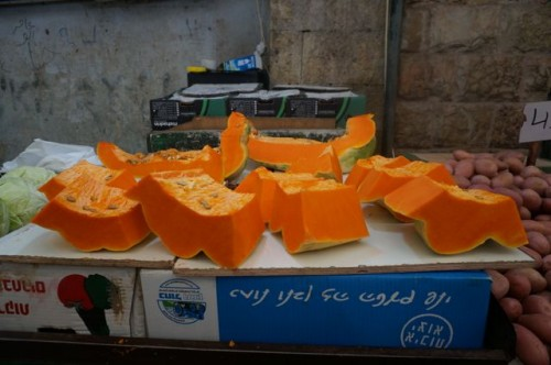 Apparently they grow giant sized squashes in Israel