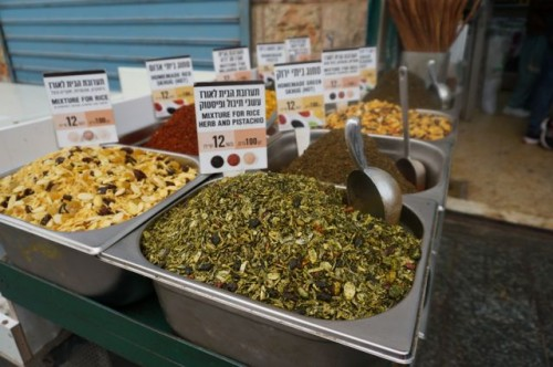 Teas at the arab shuk
